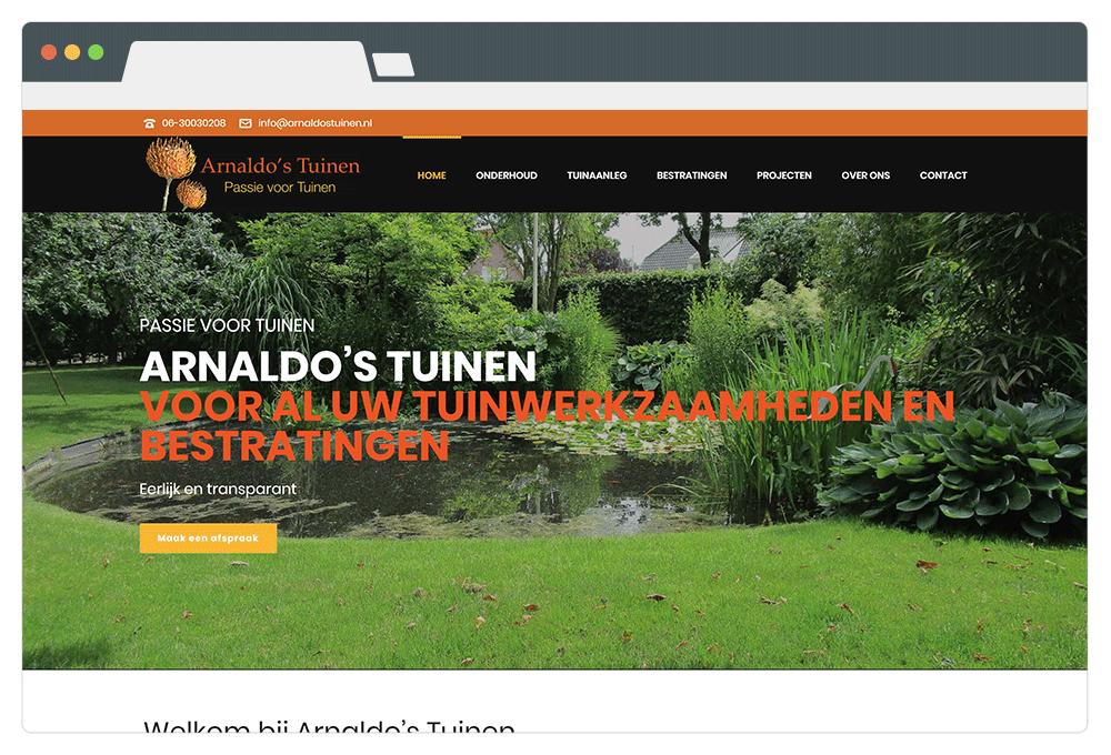 arnaldos-tuinen-browser